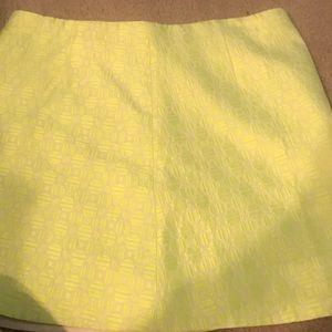 J Crew Printed Skirt
